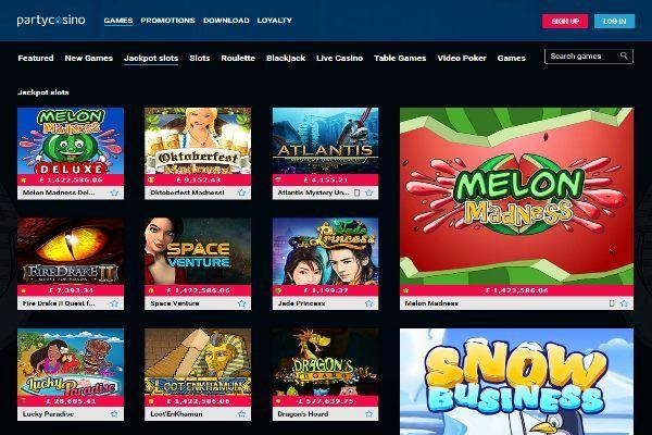 обзор онлайн казино partycasino описание