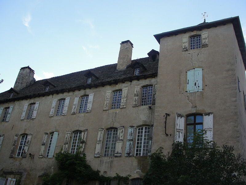 Chateau de Saint Lambert . Lozère