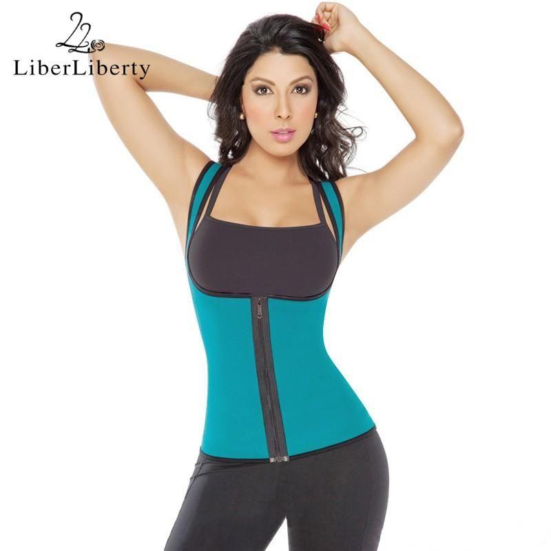 3e92c0a9af2 Women Plus Size Fitness Running Vest Ultra Sweat Neoprene Enhancing Waist  Training Vest Sport Slimming Body Shaper