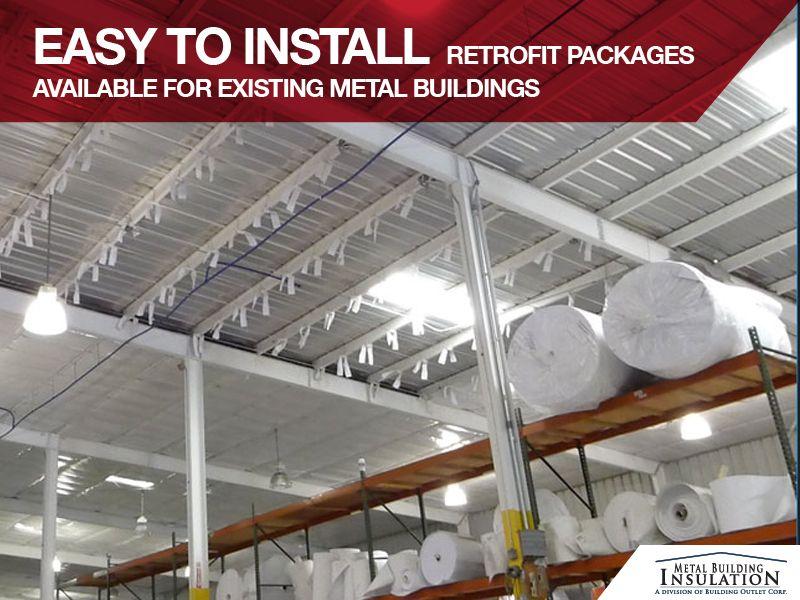 Diy Insulation Install Insulation Steelbuildinginsaultion