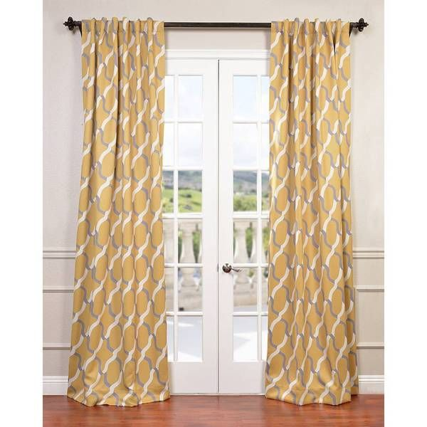 Voyager Rod Pocket Blackout Curtain Panel - Overstock™ Shopping - Great Deals on EFF Curtains