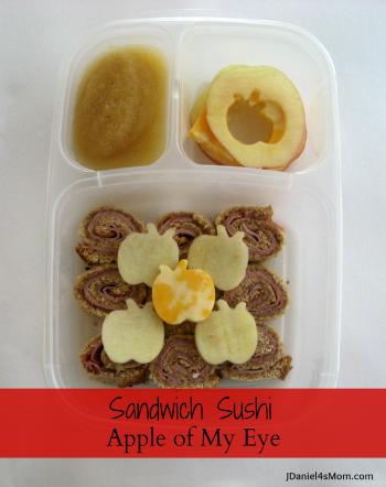 Sandwich Sushi Apple of My Eye by JDaniel4's Mom