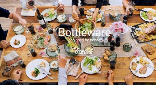 Japanese Design Studio Recycles Coca-Cola's Glass Bottles Into Tableware - DesignTAXI.com