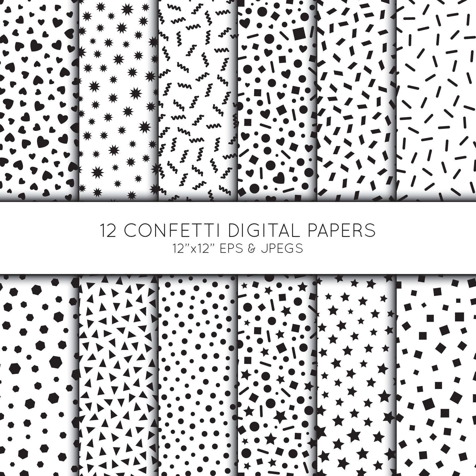 Party Digital Paper Confetti Scrapbook Paper Sprinkles Etsy In 2021 Digital Paper Scrapbook Paper Etsy