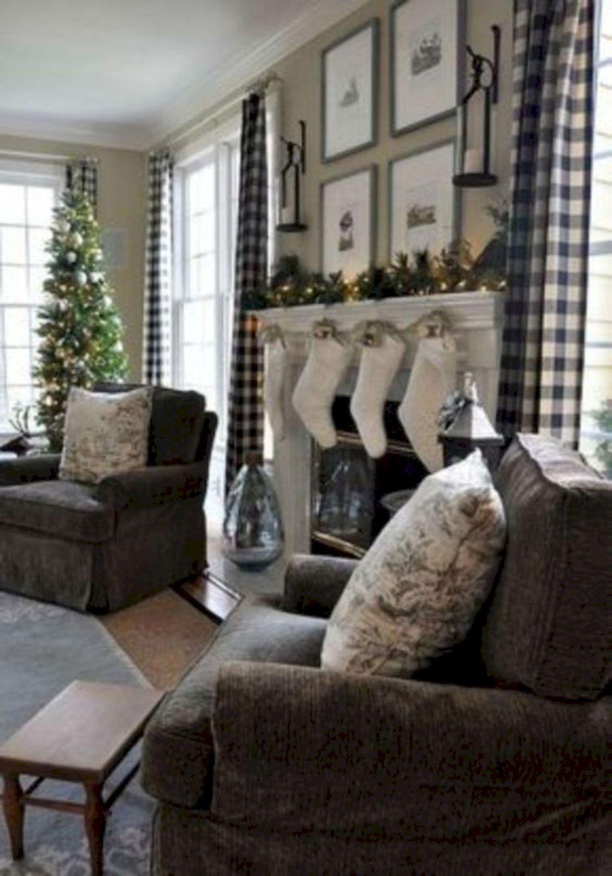 50 Adorable Modern Farmhouse Living Room Curtains Ideas (6 ... on Farmhouse Curtain Ideas For Living Room  id=52840