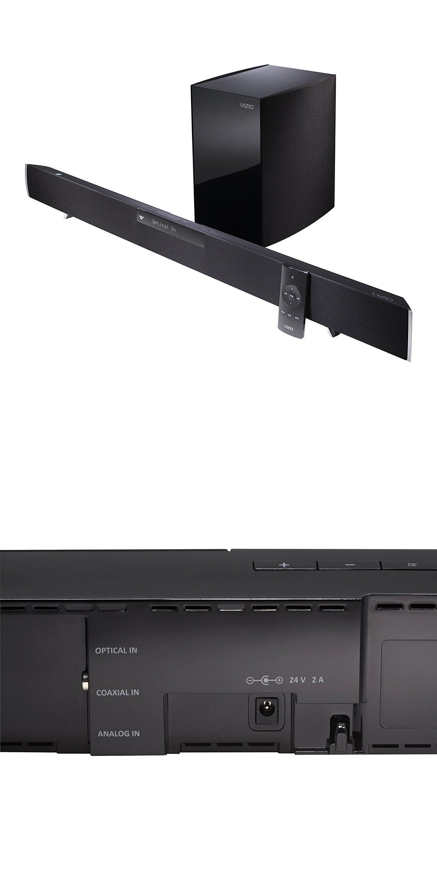 Home Theater Systems: Vizio 40-Inch 2.1 Home Theater Sound Bar With ...