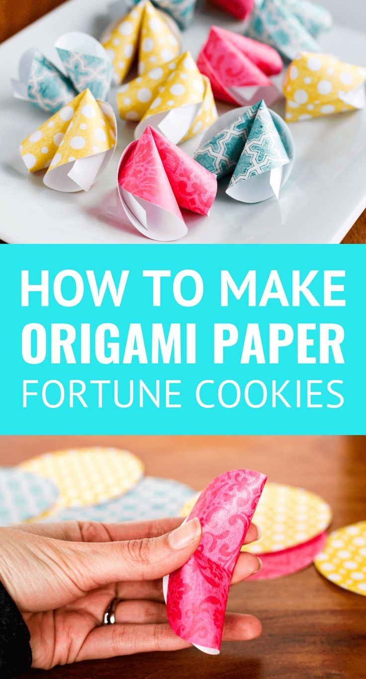 How To Make Origami Paper Fortune Cookies – Unsophisticook