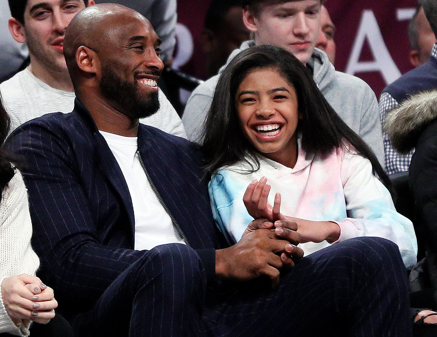 Kobe Bryant Credits Daughter Gigi with Getting Him to Watch the NBA Again During Retirement