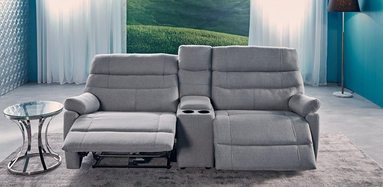 Movie Chairs Product Detail 1230 x 600 & Fabric recliner range with electric motion. | Lounge suites ... islam-shia.org