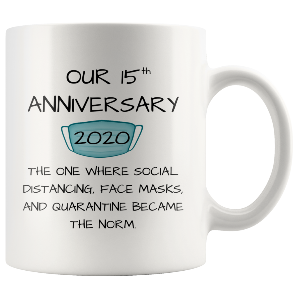 Our 15th Anniversary Mug 2020