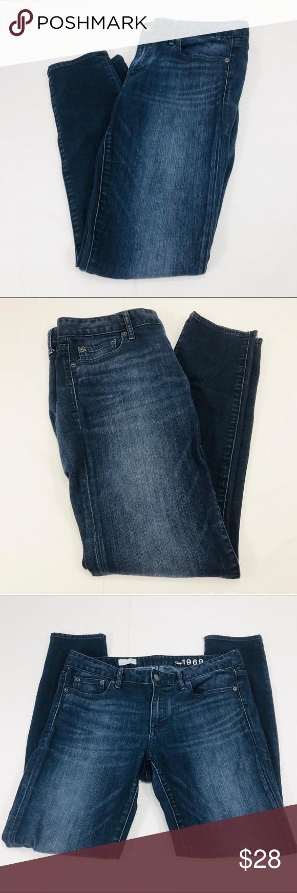 Men S Dark Blue Jeans 29x32 Dark Blue Jeans Fashion Blue Jeans
