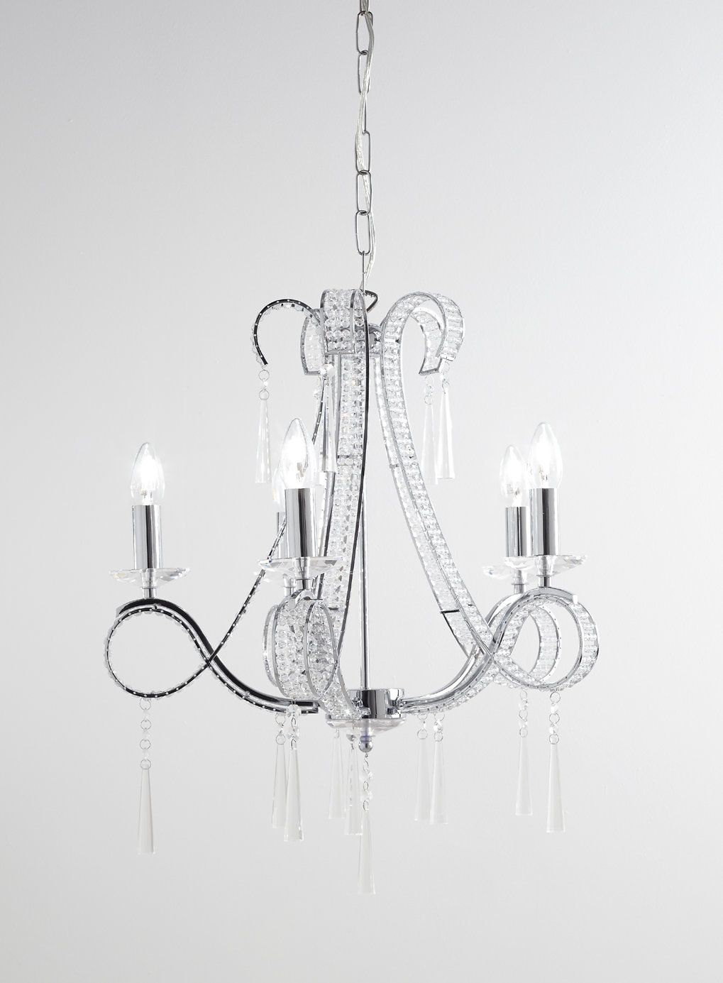 trinity 5 light chandelier - ceiling lights - home, lighting
