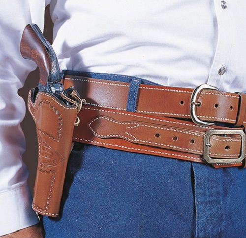 DESANTIS DOC HOLLIDAY COWBOY BELT HOLSTER FOR COLT SAA 4 3/4