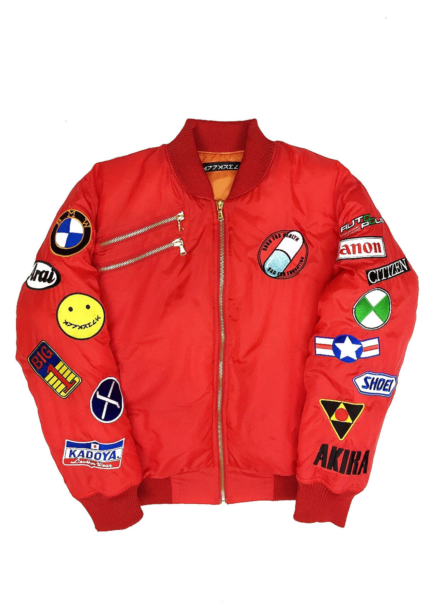 Akira red bomber jacket preorder 3c1384536f1