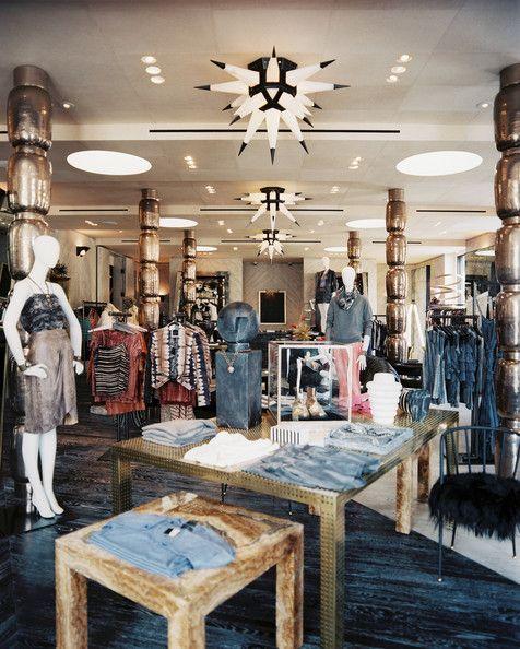 eclectic retail store design photos | retail store design, store