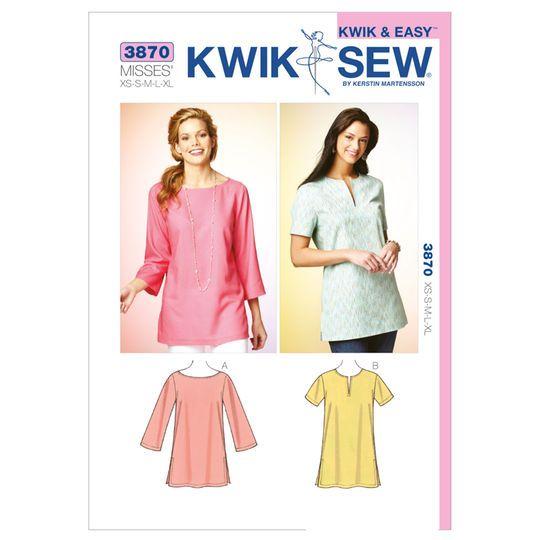 **NEW** Kwik /& Sew Sewing Pattern No Size XS-S-M-L-XL K3704