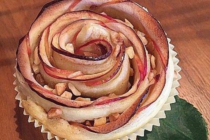 Apfel-Zimt-Rosen mit Blätterteig von ufaudie58   Chefkoch