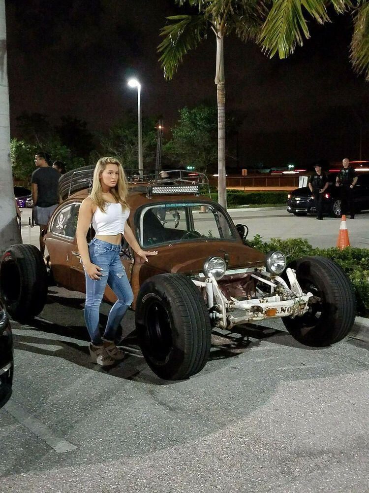 1970 Volkswagen Beetle Classic Vw Beetle Rat Rod Sand