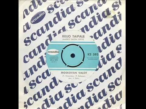Reijo Taipale ~ Moskovan Valot (1965)