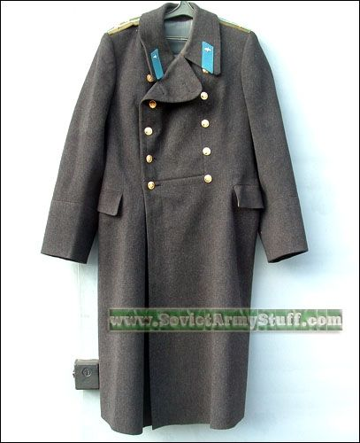 Russian Military Trench Coat - Coat Nj