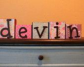 Devin :D for Devin Allen whom I no longer even know ...
