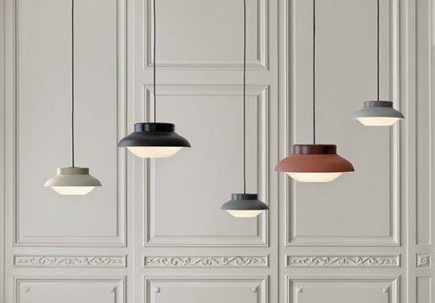 Sebastian Herkner | Collar Lamp for Gubi