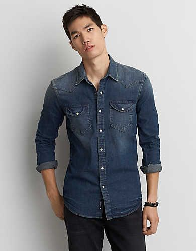 Made For Ultimate Comfort And Durability In 2020 Blue Shirt Men