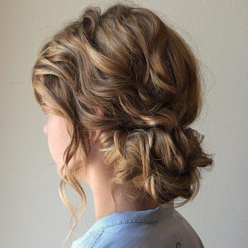 17 Best Hair Updo Ideas For Medium Length Hair Best Hairstyle Ideas Medium Length Hair Styles Updos For Medium Length Hair Medium Hair Styles
