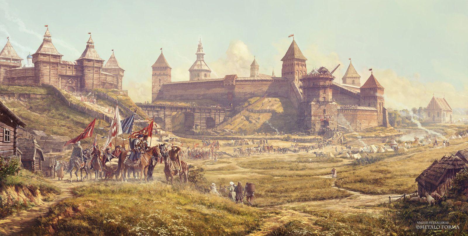 The Day Before Kleckas Battle, Vilius Petrauskas on ArtStation at https://www.artstation.com/artwork/the-day-before-kleckas-battle-ee2934c4-ba32-46d1-9657-e742eb6ccf64