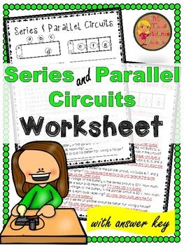 Series And Parallel Circuits Worksheet Set Series And Parallel