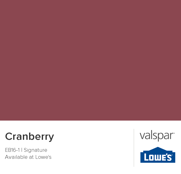Valspar Paint Color Chip Cranberry Home Valspar Paint Colors Valspar Paint Paint Colors