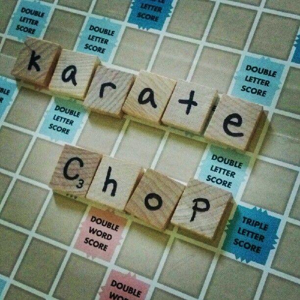 Little Moments: Scrabble your letters