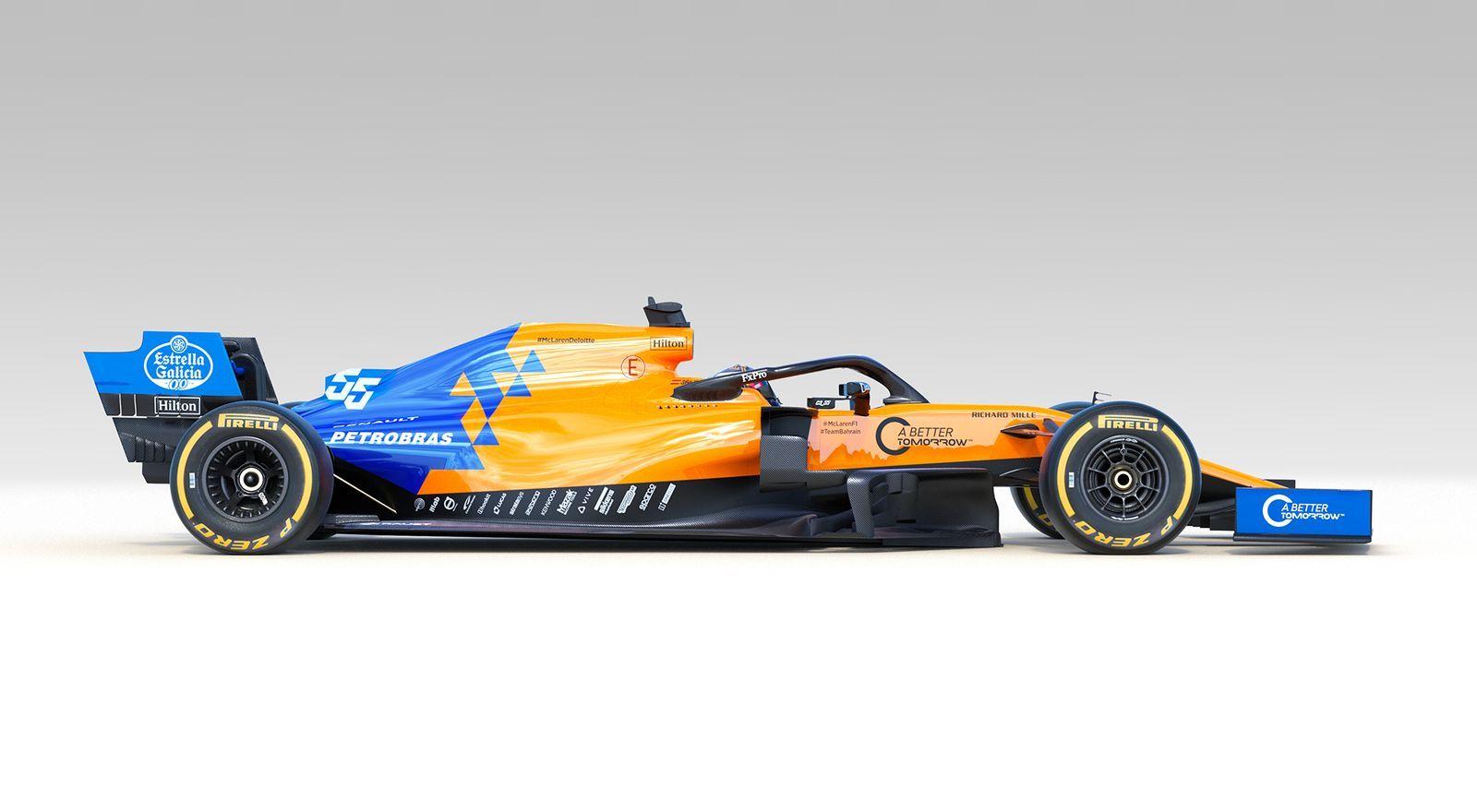F1 voici la McLaren MCL34 2019 Voiture, Formule 1 et