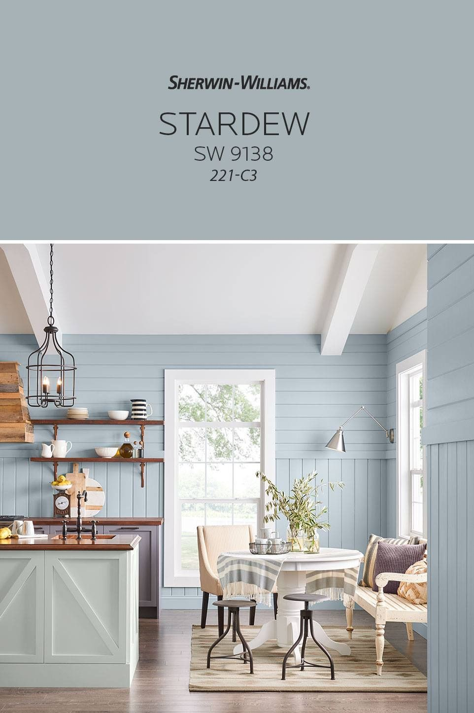 Sherwin Williams Stardew | Ideas for New House | Pinterest | Hall ...