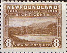 Newfoundland 1910 SG 101 Mosquito Fine Used Scott 94 Other North American and British Commonwealth Stamps HERE!