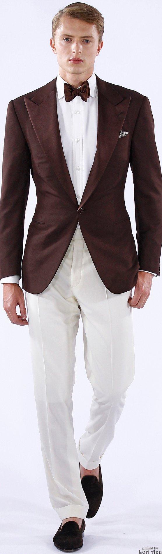 Ralph Lauren Spring 2016 | Men's Fashion | Menswear | Stylish and Sophisticated | Moda Masculina | Shop at designerclothingfans.com