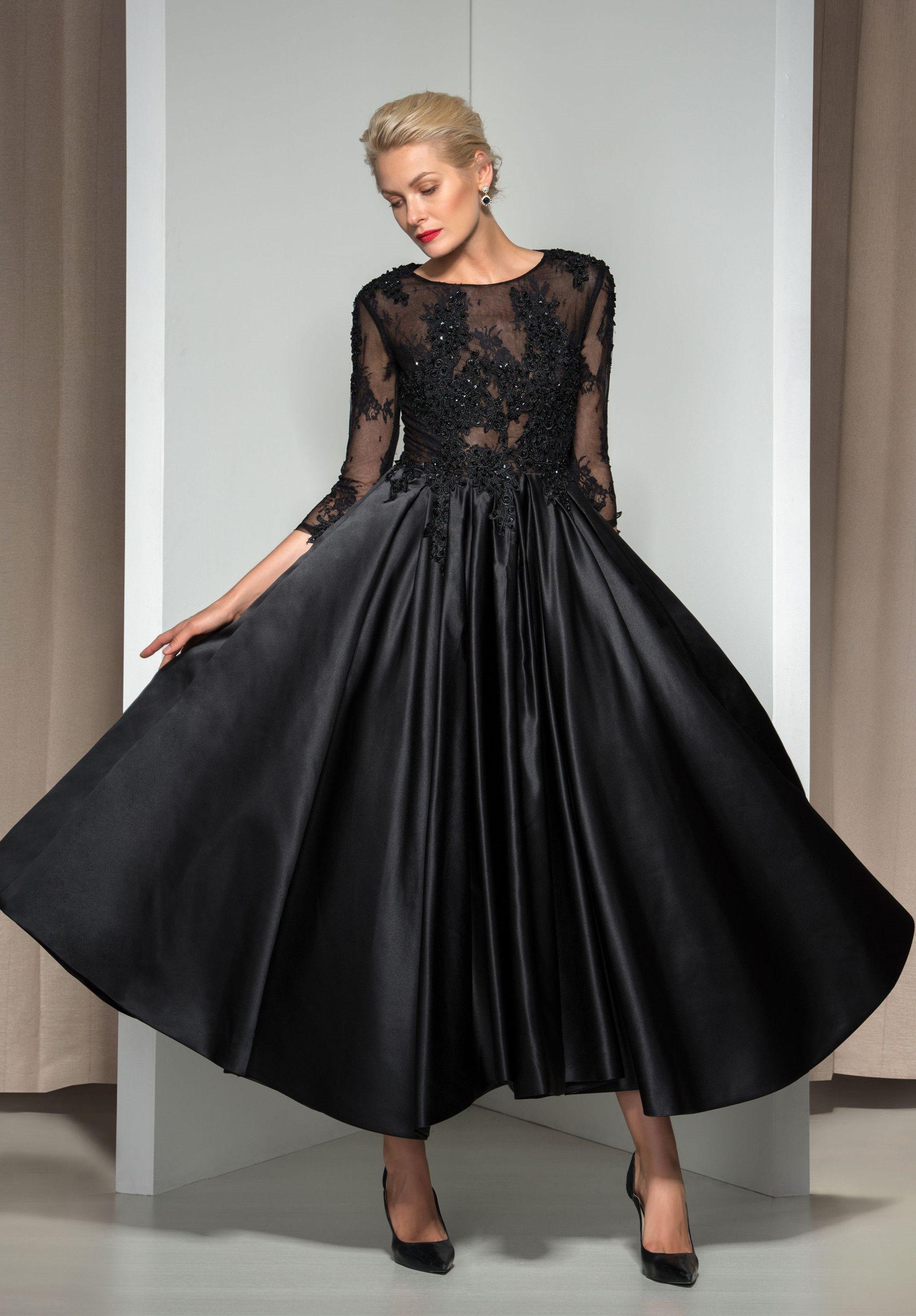 114/14 Long Sleeve Lace A-Line Evening Dress Link:http://urlend.com