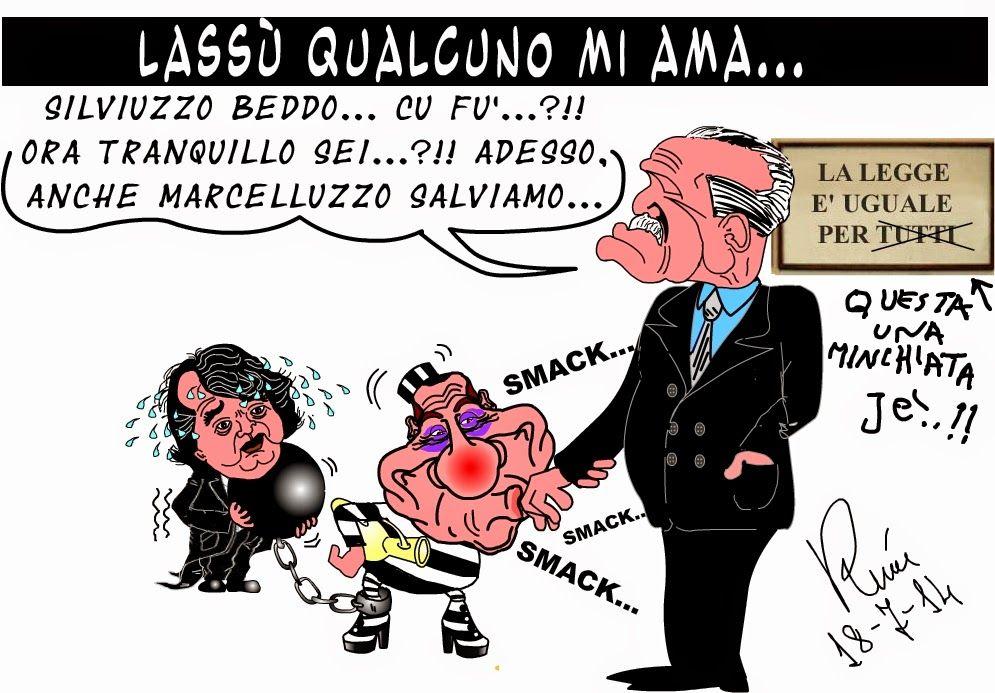 Graffiti satirici...: Bacio le mani, Don Vito...