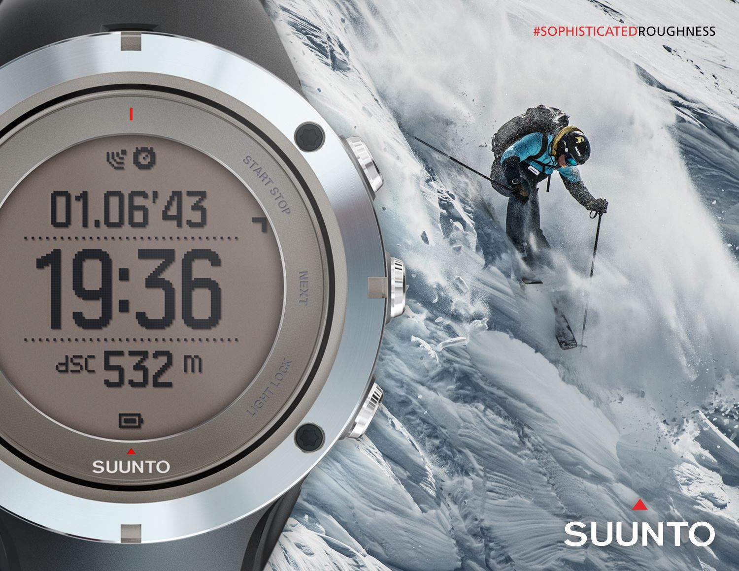 Suunto Ambit3 Peak Sapphire Black Hr Gps Watch For Outdoor Sports Sophisticated Roughness