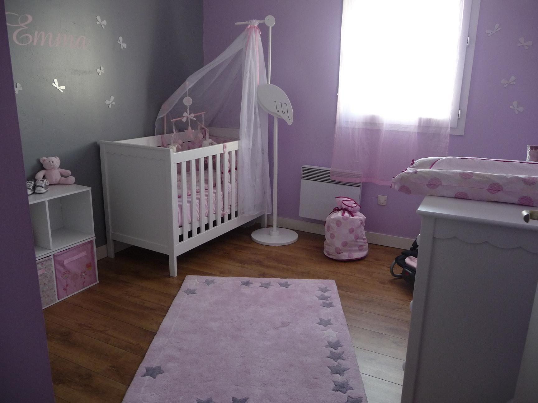 Chambre de bébé fille Feng Shui Deco enfant
