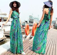 Hippie Boho Style Long Maxi Dresses Longue Robe Boheme Femme Vestido Etnico Feminino Largo Tribal Vestidos Longos de Verao