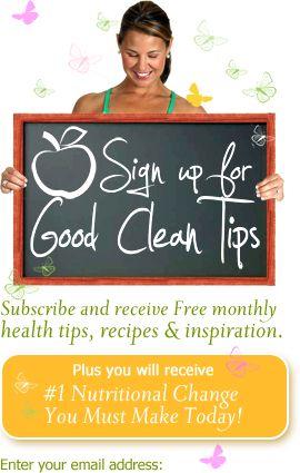 Good Clean Health newsletter