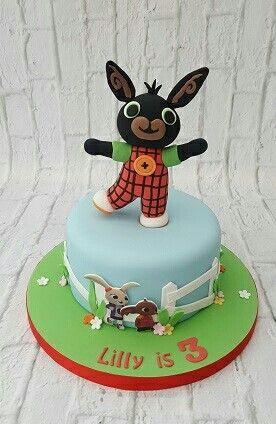 Bing Bunny Cake Ideas