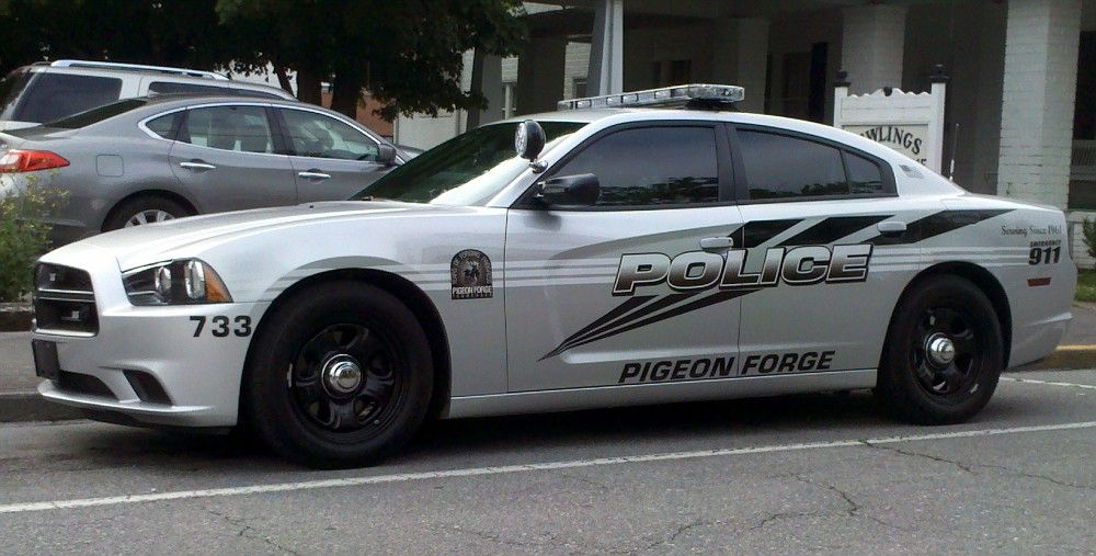 Pigeon Forge Tn Police 733 Dodge Charger Police Cars Police Future Car