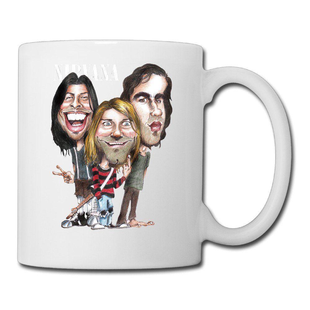 Cool nirvana ceramic coffee mug tea cup best gift for