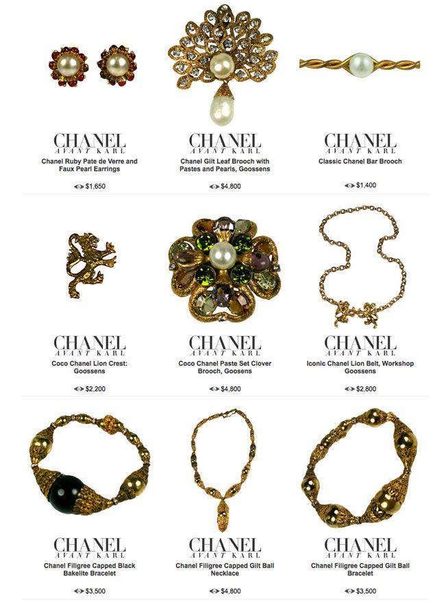 Vintage Chanel Vintage Chanel Jewelry Vintage Chanel Chanel