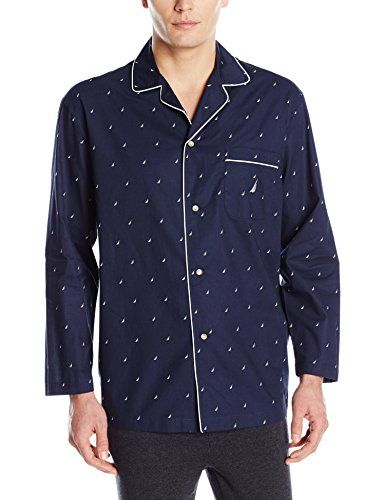 Nautica J Class Printed Cotton Sleep Shirt Shop For Very Cheap Online 0eZ15