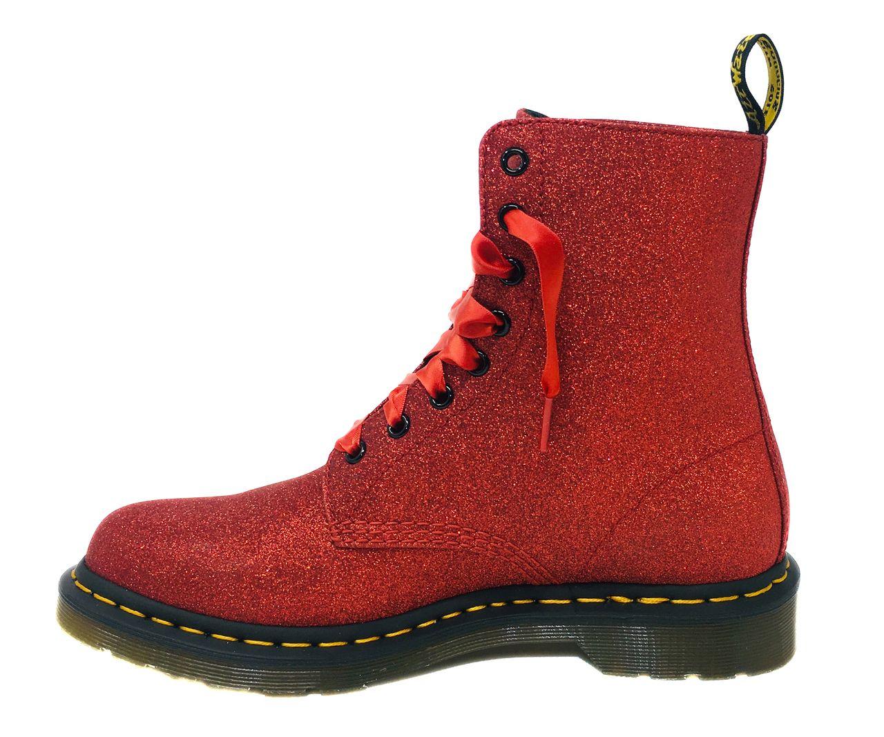 2241549ebc2b Dr. Martens Women's 1460 Pascal Glitter #24839602 Red in 2019 ...