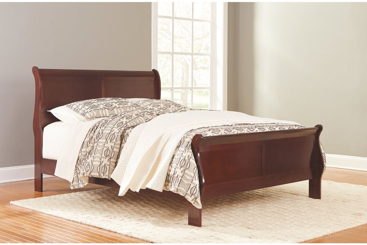 Alisdair Queen Sleigh Bed With 8 Memory Foam Mattress In A Box In 2020 Sleigh Beds Furniture Home Decor