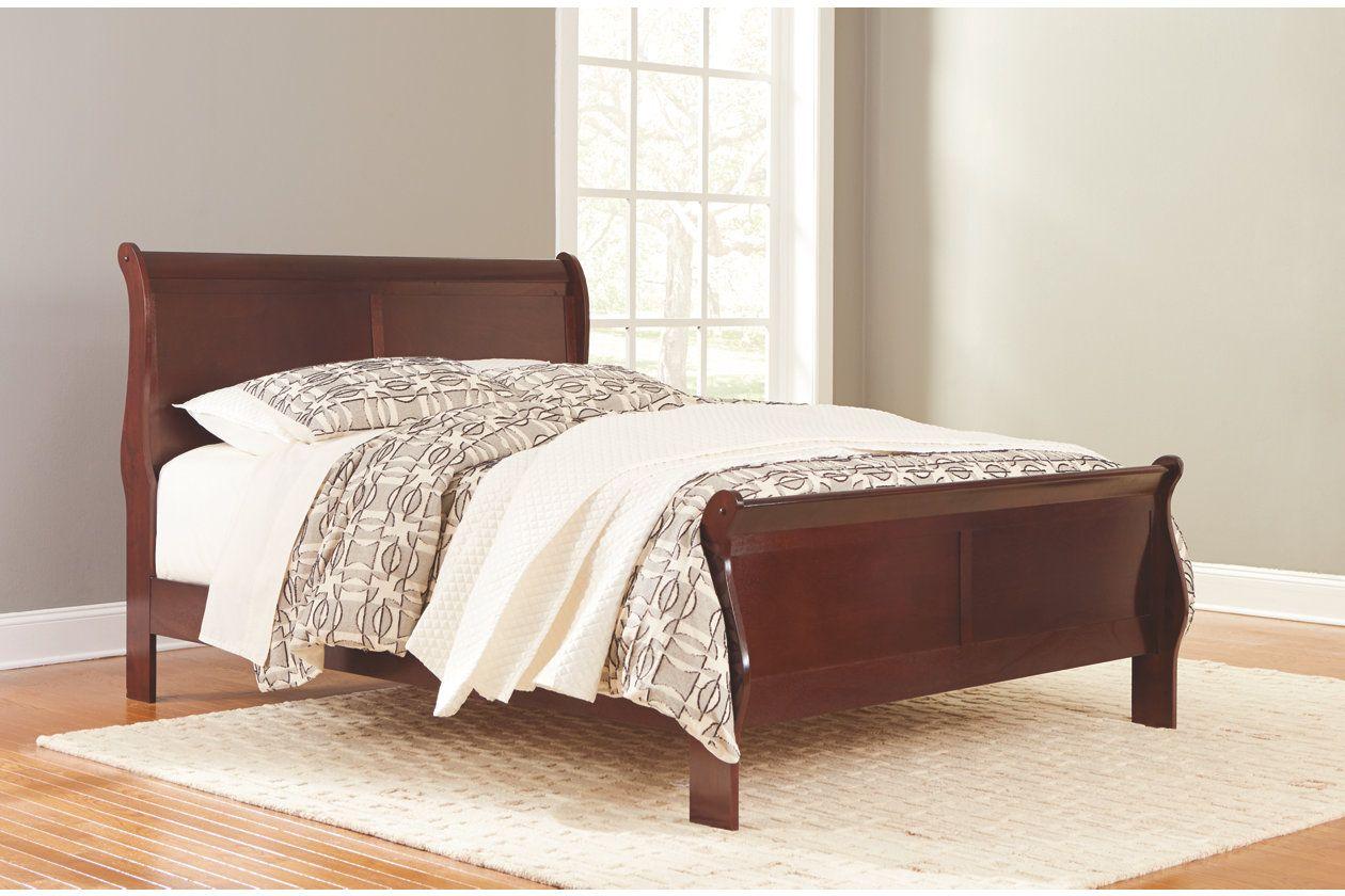 Alisdair Queen Sleigh Bed With 8 Memory Foam Mattress In A Box In